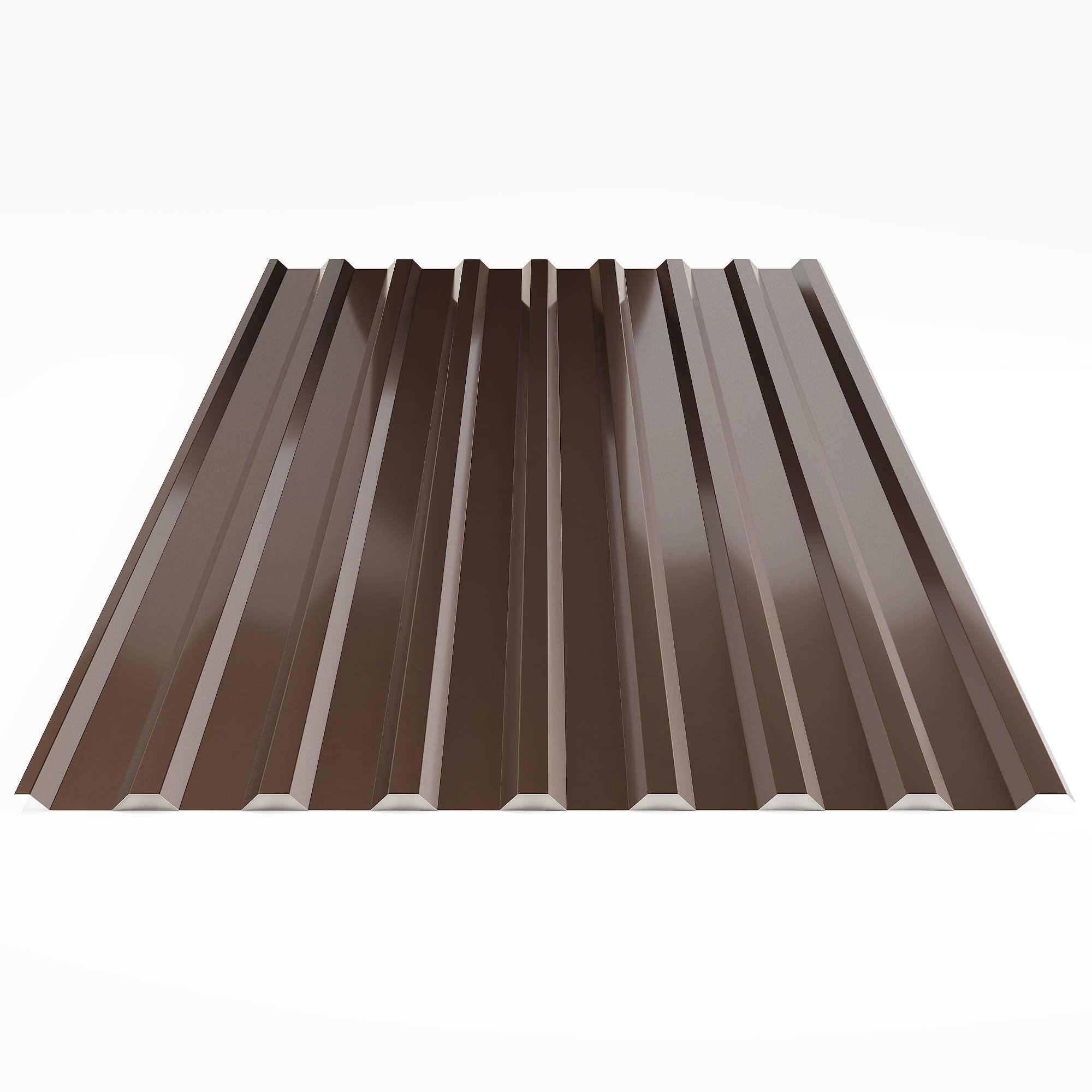 коричневый шоколад профлист